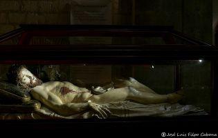 Cristo yacente - Iglesia de San Pablo