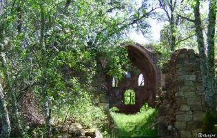 Ruinas del convento de Alveinte - Monasterio de la Sierra