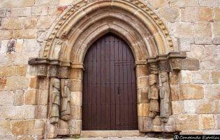 Portada Nuestra Señora del Azogue - Puebla de Sanabria