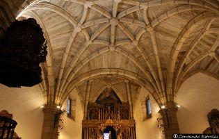 Interior iglesia de Nuestra Señora del Azogue