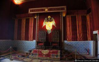 Sala de audiencias - Alcázar de Segovia