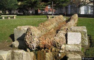 Canalización romana - León