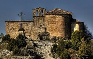 Ermita de San Frutos - Hoces del Duratón.