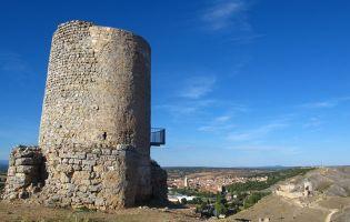 Castillo de Osma desde Uxama - El Burgo de Osma