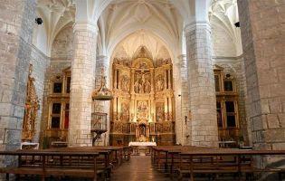 Interior Iglesia de Villabáñez - Ruta en moto por la Ribera del Duero en Valladolid