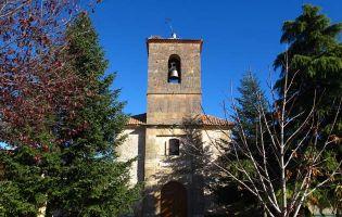 Iglesia de Adrada de Pirón - Ruta del río Pirón