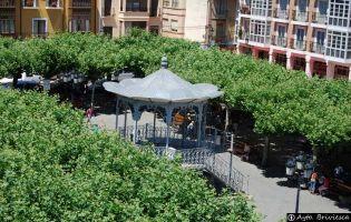 Plaza Mayor de Briviesca