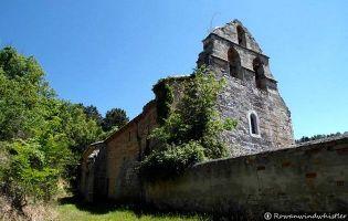 Iglesia Pino de Bureba.