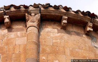 Canecillos Iglesia - Aguilar de Bureba