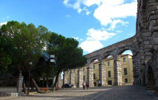 Recorrido del Acueducto de Segovia - Plaza Díaz Sanz