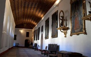 Artesonados en Segovia - Monasterio de San Antonio el Real