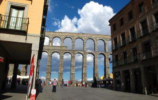 Qué ver en Segovia - Acueducto romano