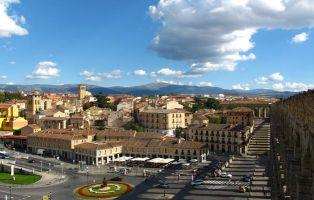 Panorámica de Segovia - Fotos de Segovia