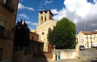 Templo románico - Iglesia de San Justo - Segovia