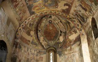 Pinturas románicas - Pantocrator Iglesia de San Justo - Segovia