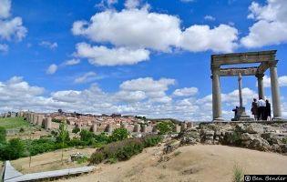Mirador de Los Cuatro Postes - Ávila