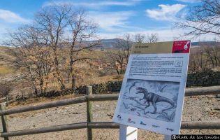 Yacimiento paleontológico Fuente Lacorte - El Frontal