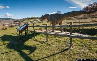 Allosaurus en Fuente Lacorte - El Frontal