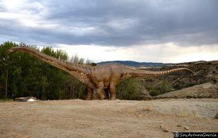 Brontosaurio - Fuentes de Magaña