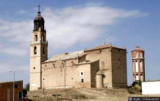 Iglesia de Santa María del Castillo - Villaverde de Medina