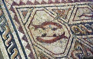 Mosaico Villa romana de Tejada
