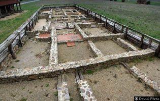 Yacimiento romano del Campamento de Petavonium