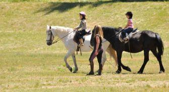 Paseos y rutas a caballo en La Granja de San Ildefonso
