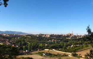 Rutas por Segovia Panorámica de la Ciudad