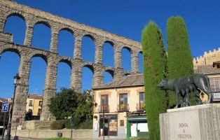 Naturaleza en la ciudad de Segovia