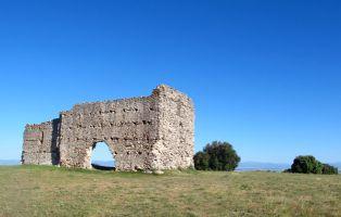 Restos de la Ermita de San Cebrián - Fuentepelayo - Zarzuela del Pinar