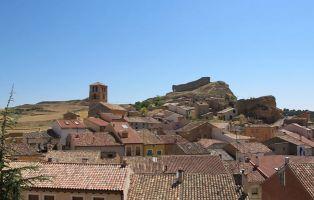 Qué ver en San Esteban de Gormaz - Panorámica del cerro del castillo
