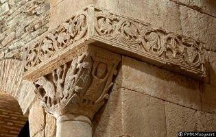 Daniel en el foso de los leones - San Pedro la Nave