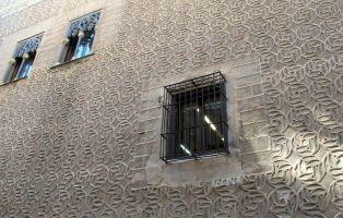 Esgrafiado segoviano - Palacio del Conde Alpuente
