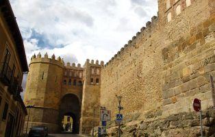 Recinto amurallado en Segovia - Puerta de San Andrés