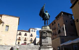 Lugares con encanto en Segovia- Plaza de Medina del Campo