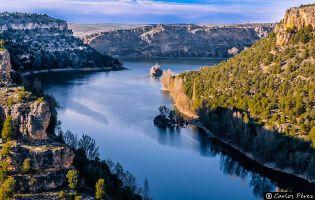 Parque Natural Hoces del Río Duratón senderismo