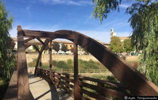 Sendero de la Ribera del Pisuerga en Torquemada
