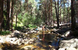 Viajar con niños - El Chorro de Navafría - Segovia