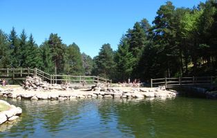 El Chorro de Navafría - Piscinas naturales del Río Cega