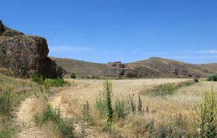 Tramo final del sendero - El Cañón de Bálsamos - Senderismo Segovia