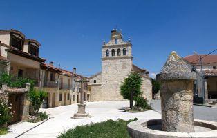 Iglesia gótica de San Juan Bautista - Inicio de la ruta de senderismo - Urueñas
