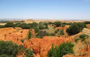 Paraje curioso - Cárcavas de Fresno de Cantespino - Segovia