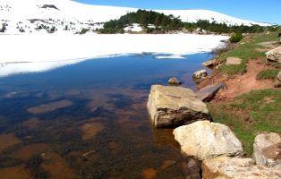 Laguna Larga - Lagunas de Neila