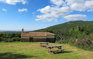 Zona de descanso - Pradera de San Benito - Senderismo Segovia