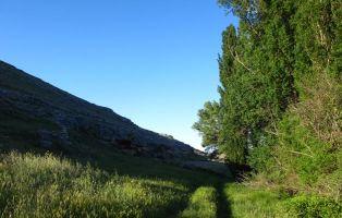 endero del Valle de la Hoz - Aldeasoña