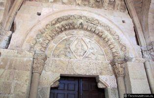 Qué ver en Sepúlveda - Tímpano único en Segovia