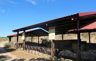 Yacimiento romano en Coca - Segovia