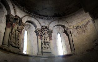 Interior Iglesia de Santiago - Turégano