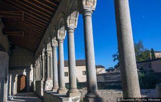 Atrio porticado de San Martín - Arevalo