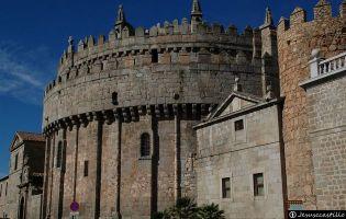 Ábside de la Catedral de Ávila